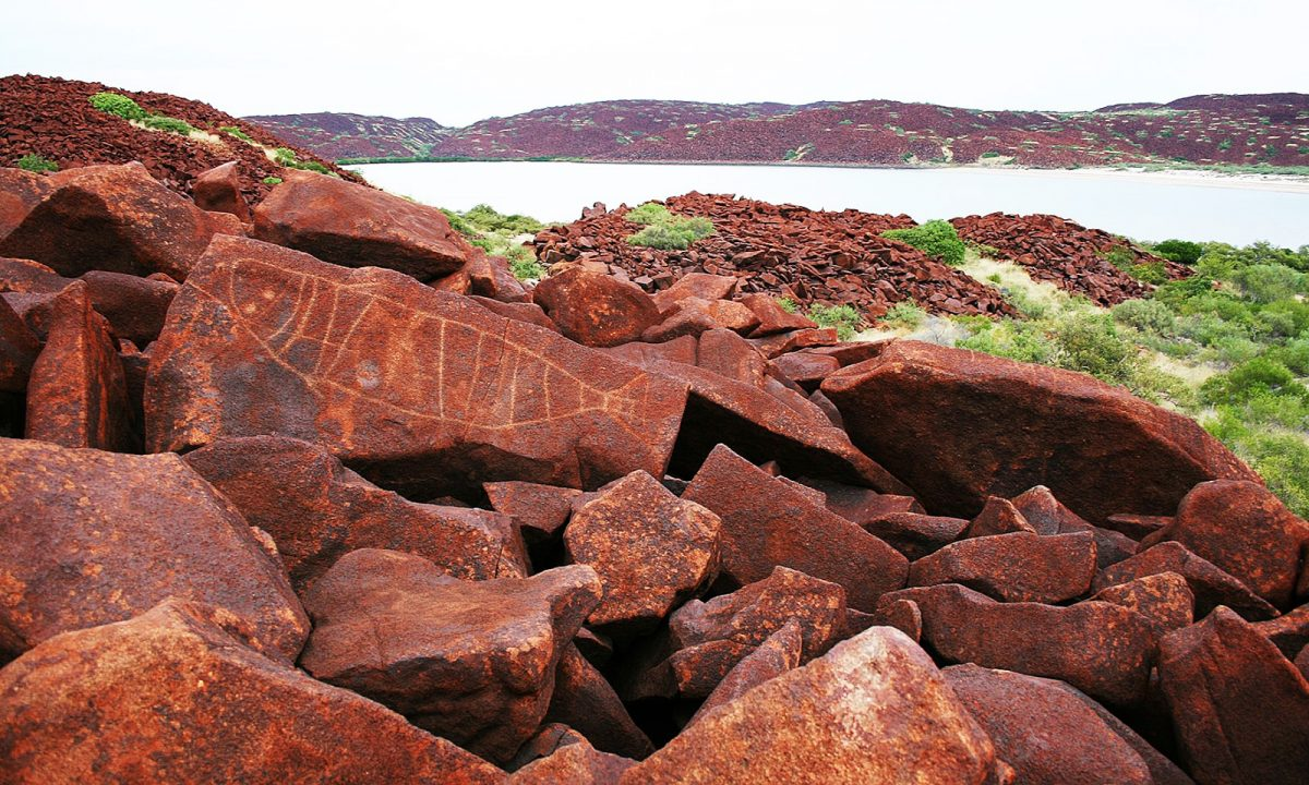 Public asked not to climb on rock art