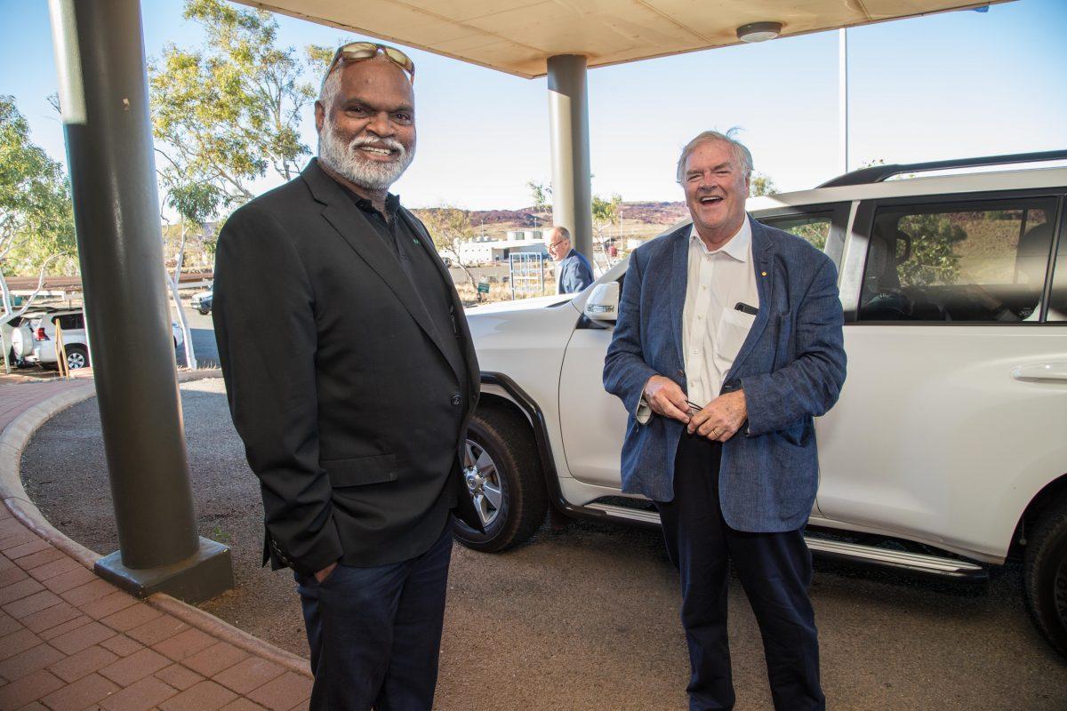 MAC welcomes Governor to view Murujuga rock art